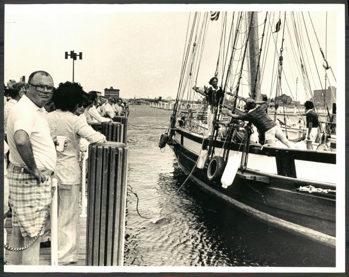 The Pride of Baltimore was constructed from wood, by hand in Baltimore. Though it had never been meant to sail, it ended up traveling around the world as the city's goodwill ambassador — until a terrible storm brought it down on May 14, 1986.