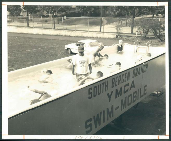 YMCA swim-mobile on July 30, 1967.