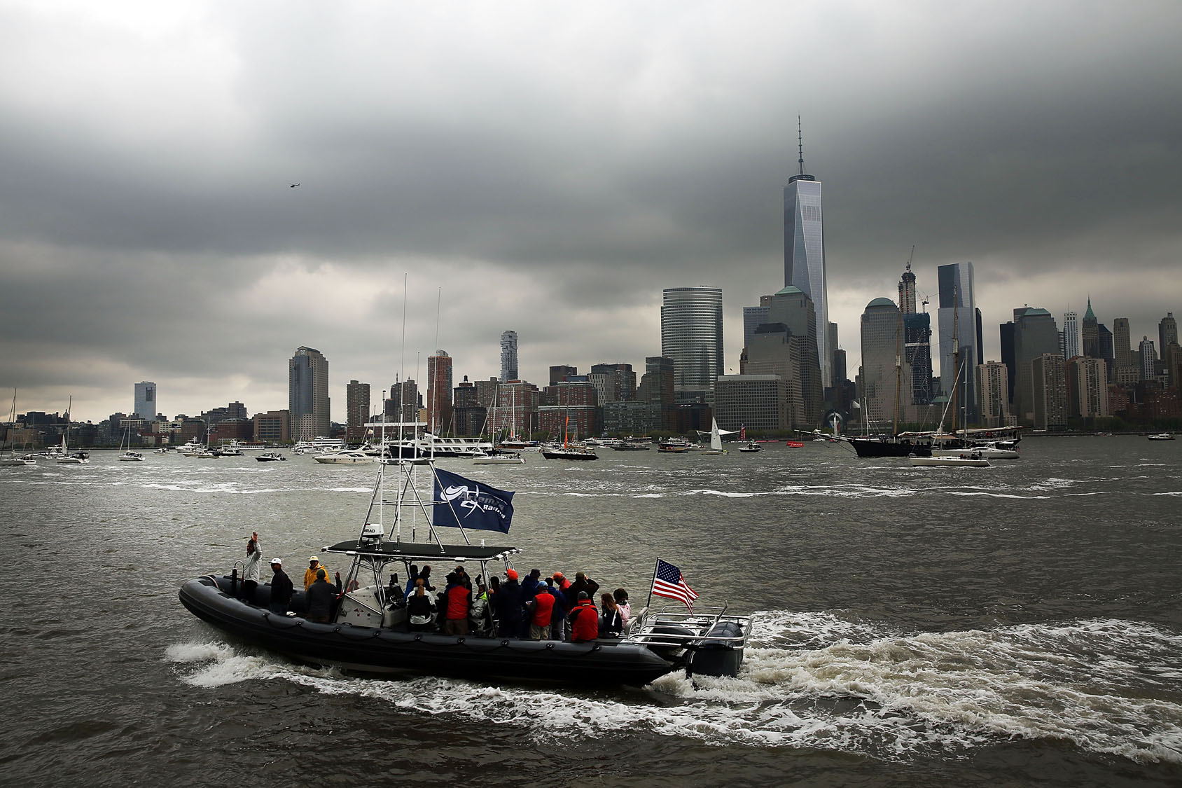 Sailors compete in America's Cup World Series New York