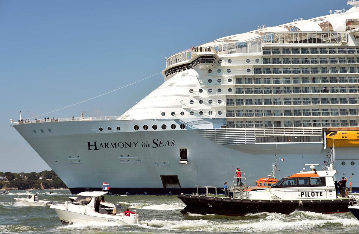 Harmony Of The Seas Vs Titanic