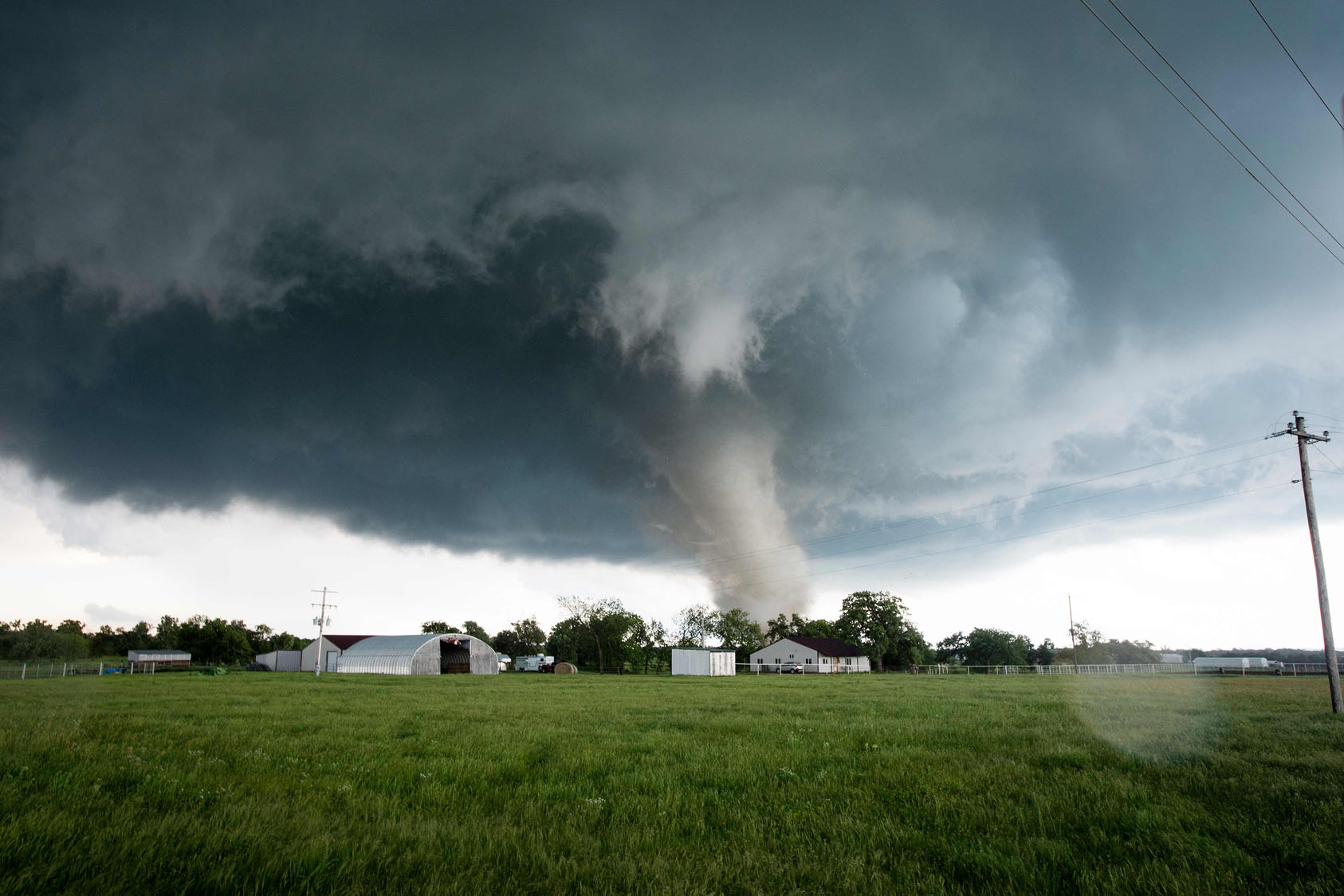 Tornadoes rip across Oklahoma