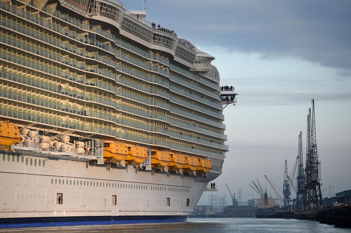 Largest Cruise Ship Ever Built Vs Titanic Pinterest