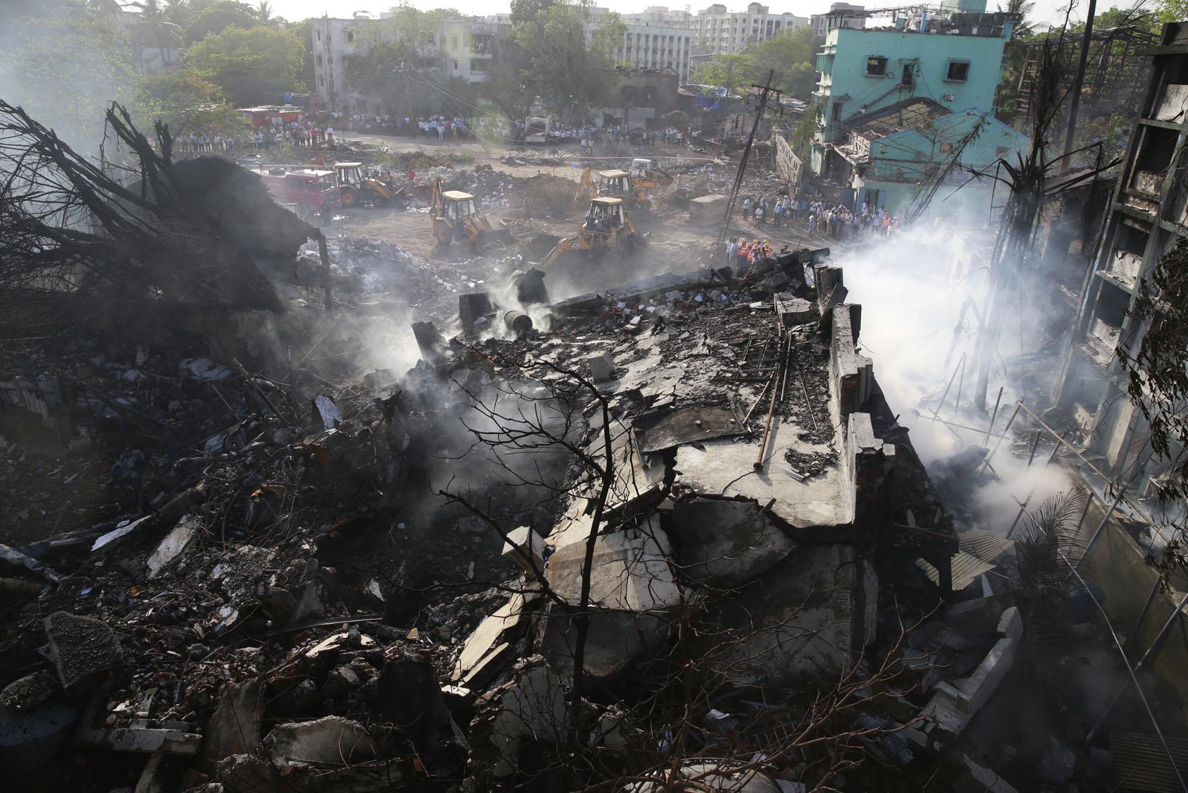 India explosión