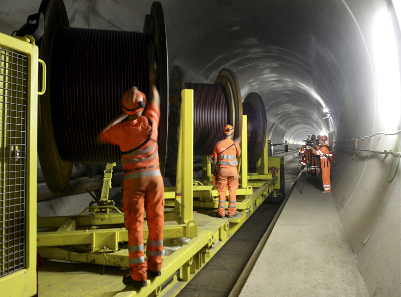 World's longest train tunnel opening in Switzerland
