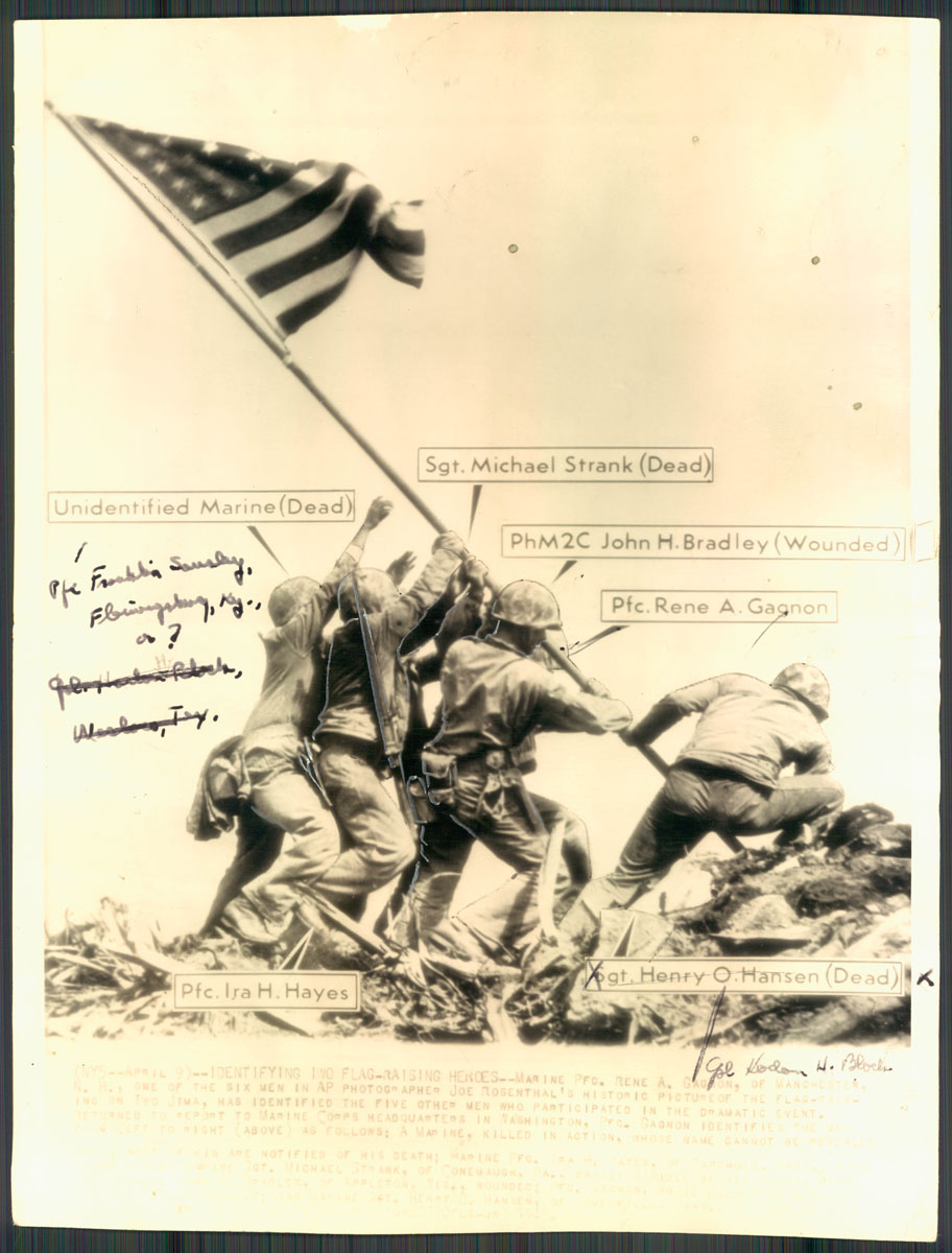 From the Vault: Revisiting the iconic Iwo Jima photograph
