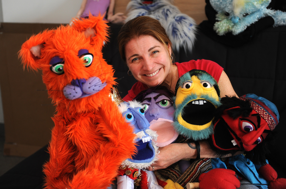 Puppets are serious business for artist Tiffany Lange