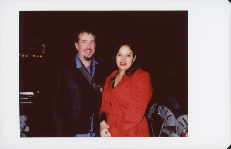 "Anna Biller and Jared Sanford, director and actor/producer of ""The Love Witch."""