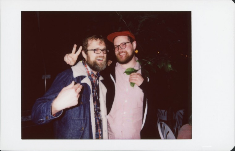 MDFF Director of Programming Eric Allen Hatch with musician/DJ Dan Deacon