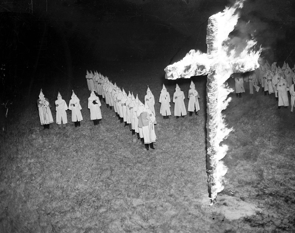 the ku klux klan turns