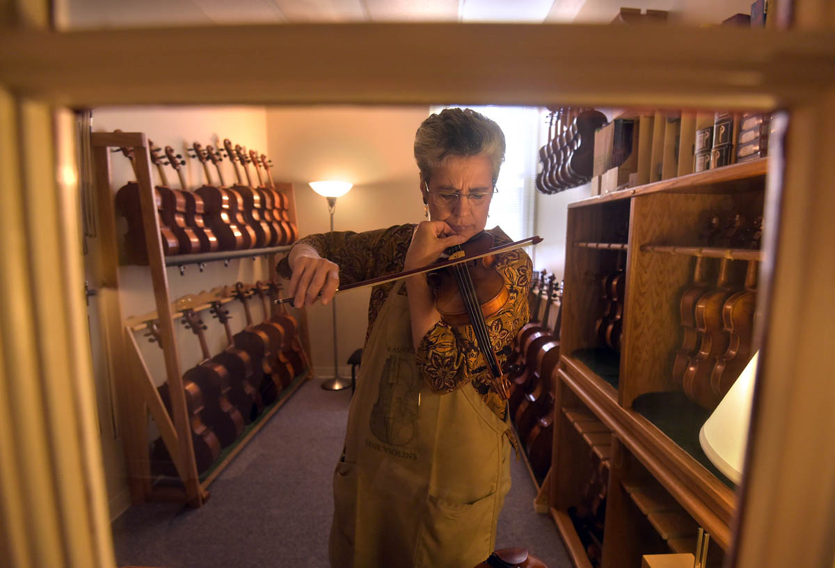 Keeping music alive at Perrin & Associates Fine Violins
