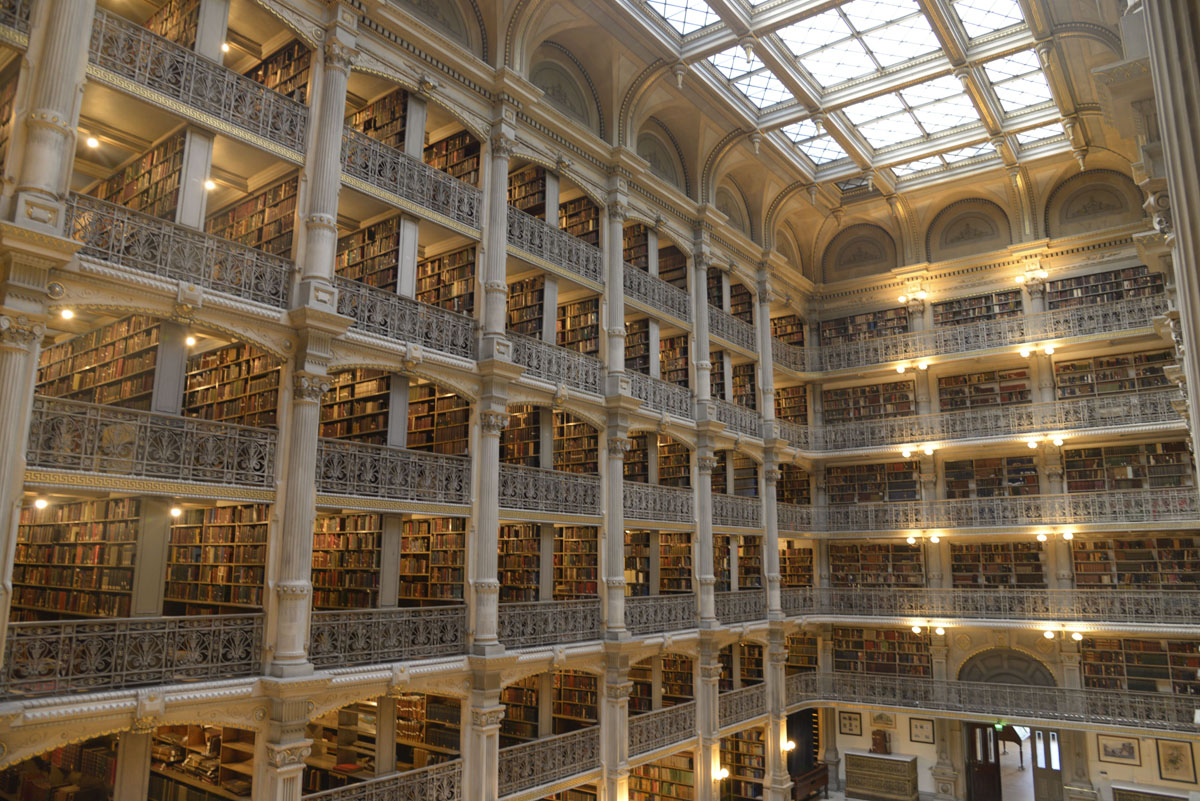 Exploring the Peabody Library's hidden gems