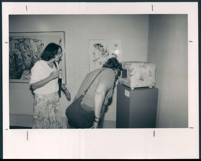 Eve Watts; Charlotte Luskey. 1986. (Hamilton)