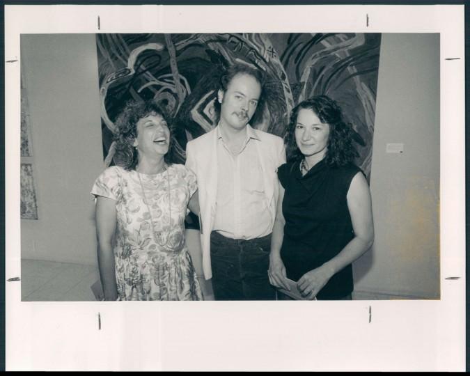 Terry Haney and Ann Naito. 1986. (Hamilton/Baltimore Sun)
