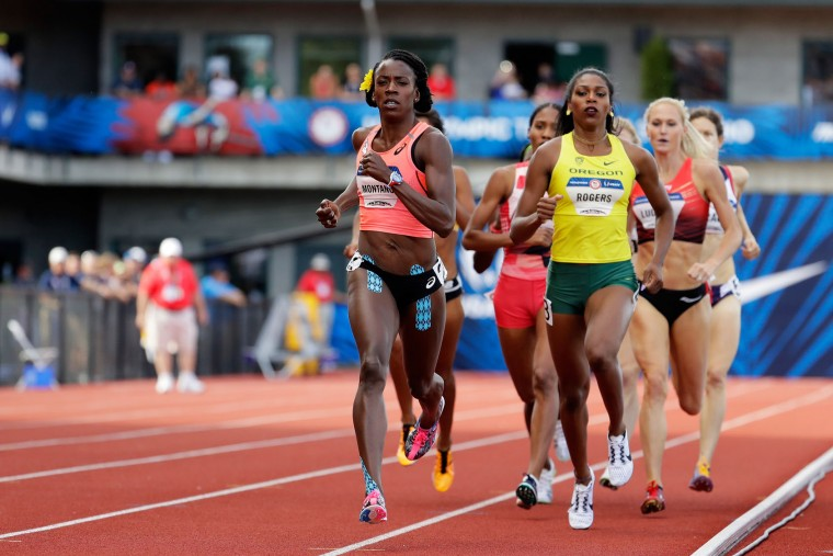 Alysia Montano runs in the Women's 800 Meter Final during the 2016 U.S. Olympic Track & Field Team Trials at Hayward Field on July 4, 2016 in Eugene, Oregon. (Photo by Andy Lyons/Getty Images)