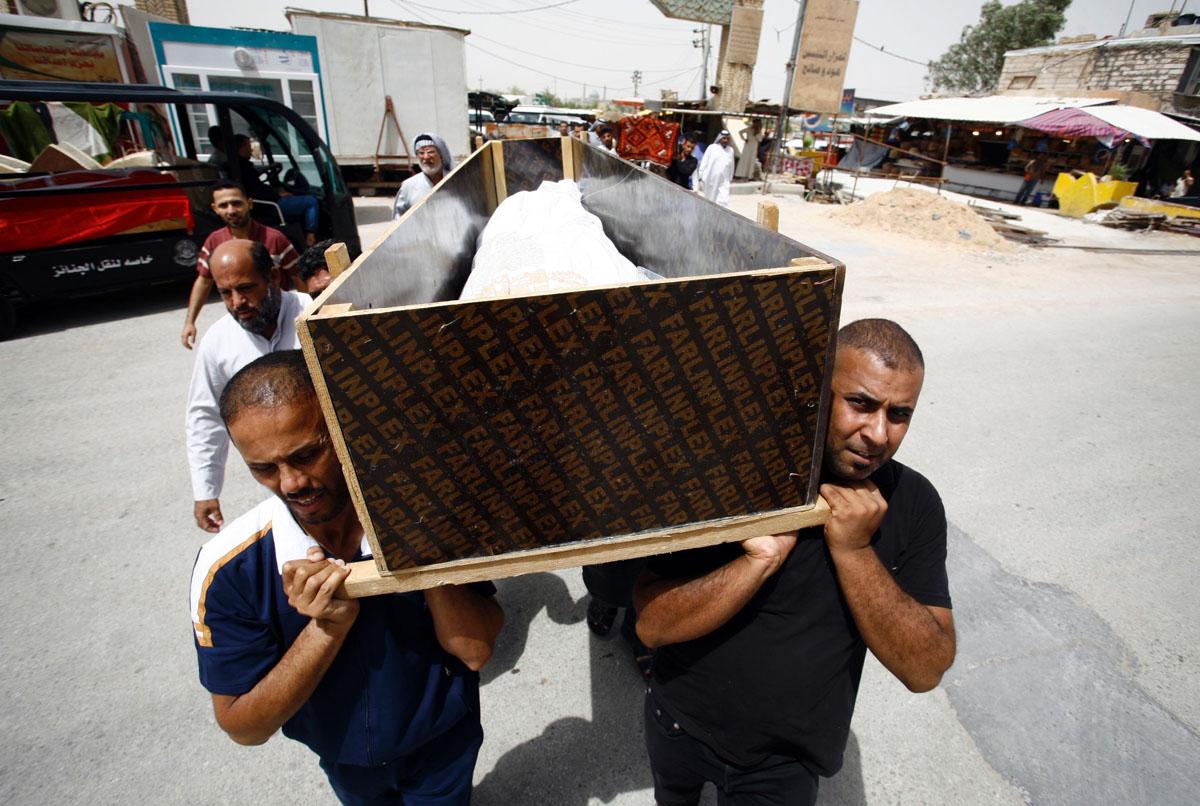 Blast kills 200 in Baghdad