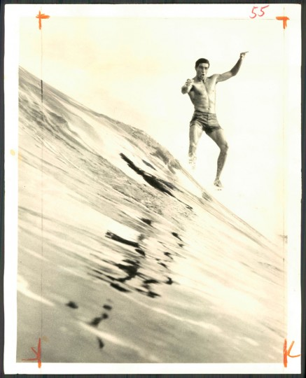 Felipe Pomar, world's surfing champion. April 28, 1966.