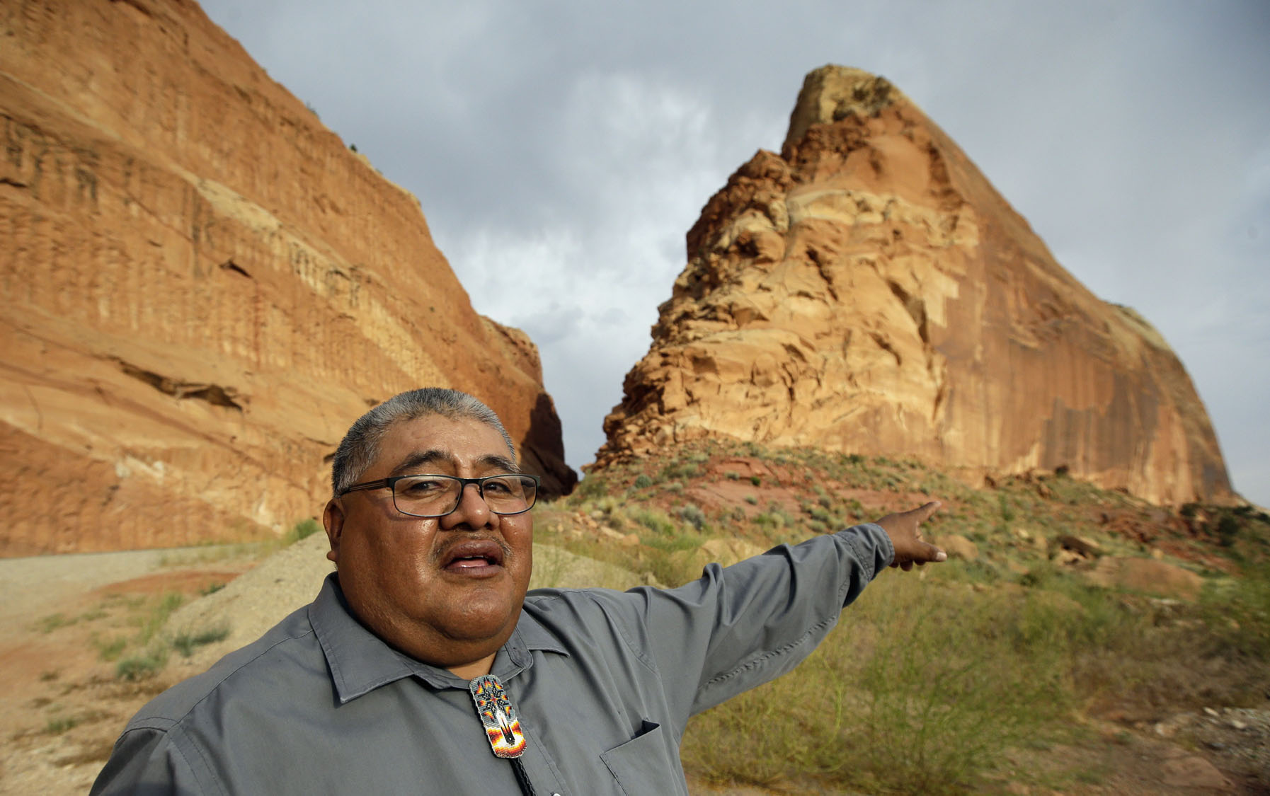 American Indians, environmentalists call to preserve sacred land in Utah