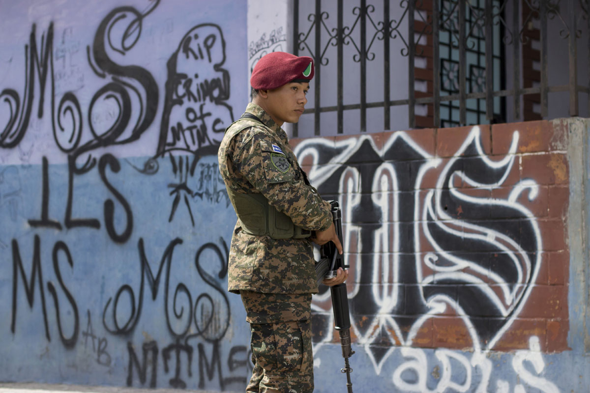Taking on gang violence in El Salvador
