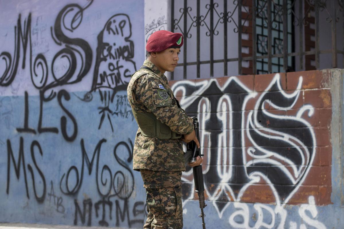 Taking on gang violence in El Salvador