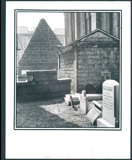 Graveyard, cemetery, tombstone, 1972.