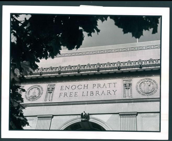 Enoch Pratt Free Library, 1972.