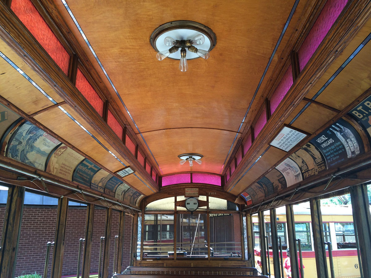 Riding the rails at the Baltimore Streetcar Museum