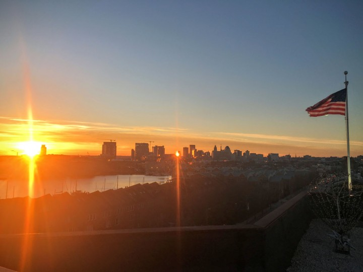 I sneak up to the roof of the Can Company to catch the sunset when I can. It's a pretty spectacular view of the harbor and city.