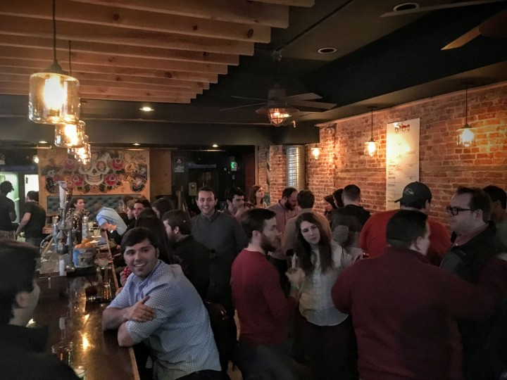 OrderUp employees work really hard but also play hard. You can often find us at a Canton bar after work.