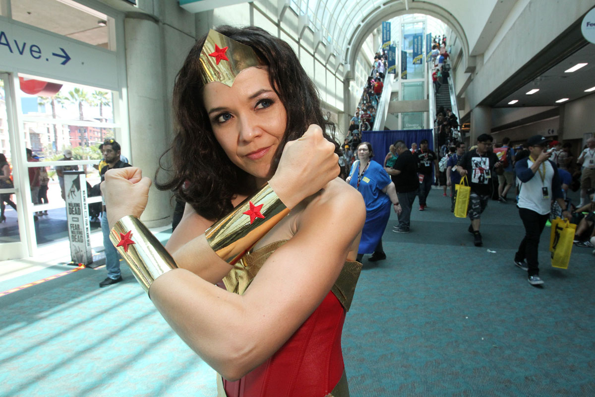 Characters come out to Comic-Con 2016 in San Diego