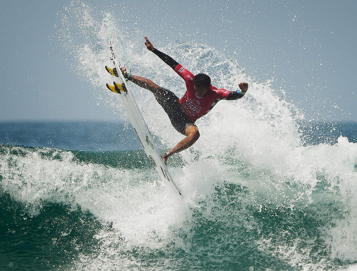 Everybody's gone surfin' at the U.S. Open of Surfing