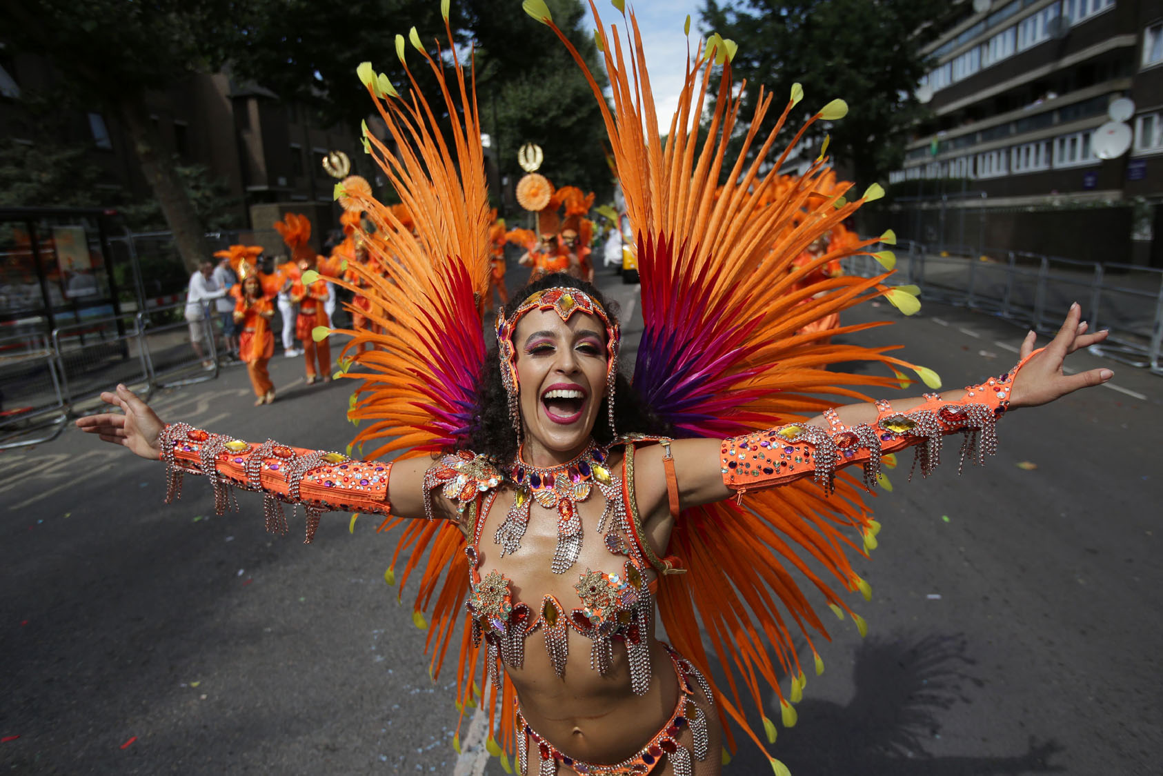 Celebrating Caribbean culture at London's Notting Hill Carnival