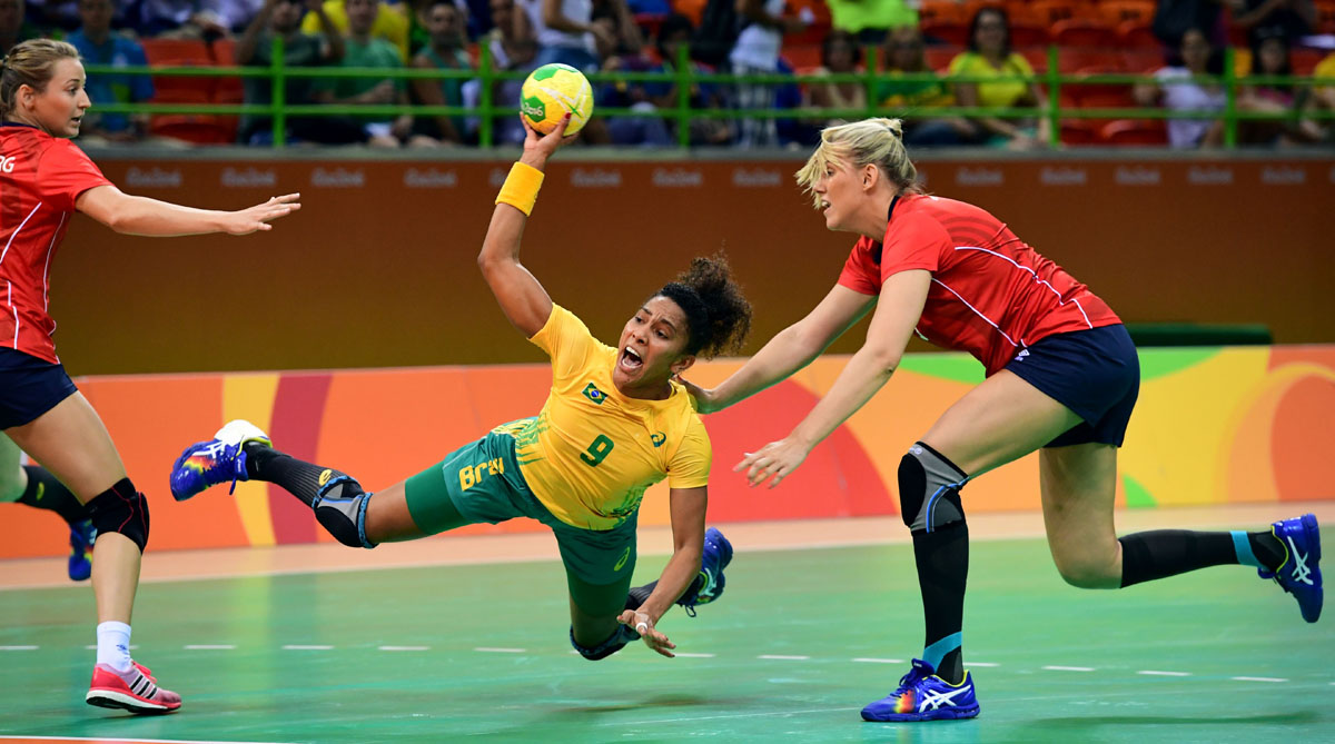 Into action at the 2016 Rio Olympics