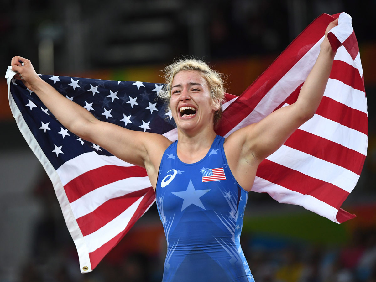 Maryland's Helen Maroulis wins first-ever U.S. gold medal in women's wrestling