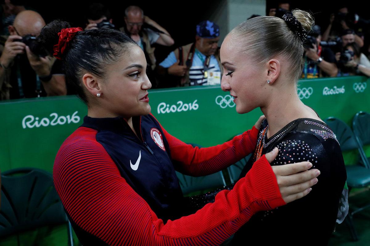 Sanne Wevers edges Laurie Hernandez, Simone Biles in Olympics balance beam