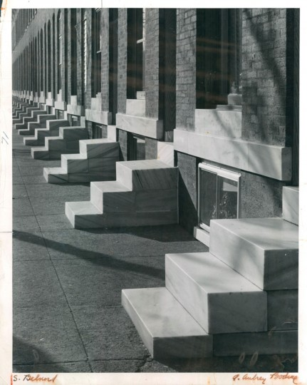 Marble Steps Baltimore 1963. (Bodine/Baltimore Sun)