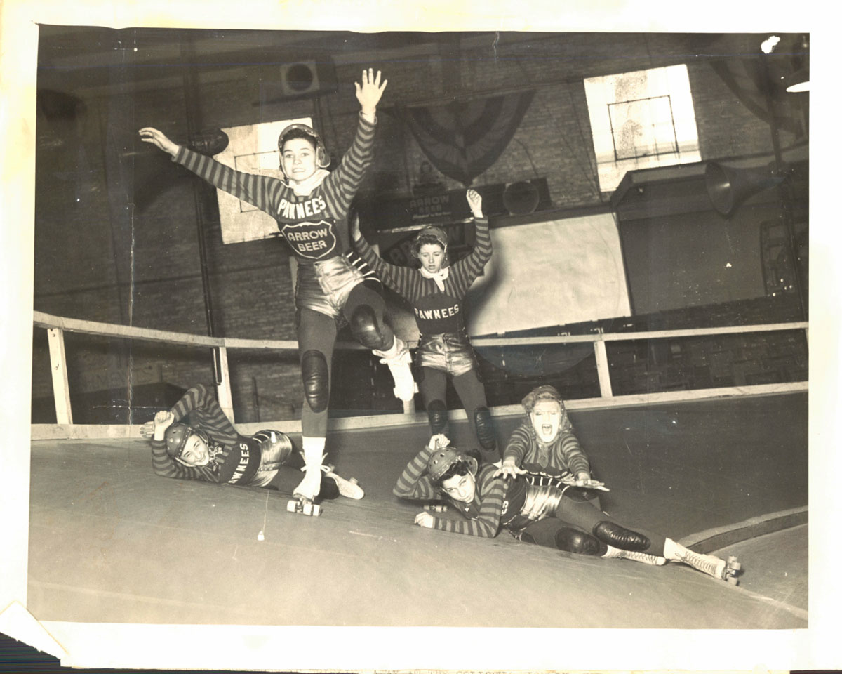 From the vault: Baltimore roller derby