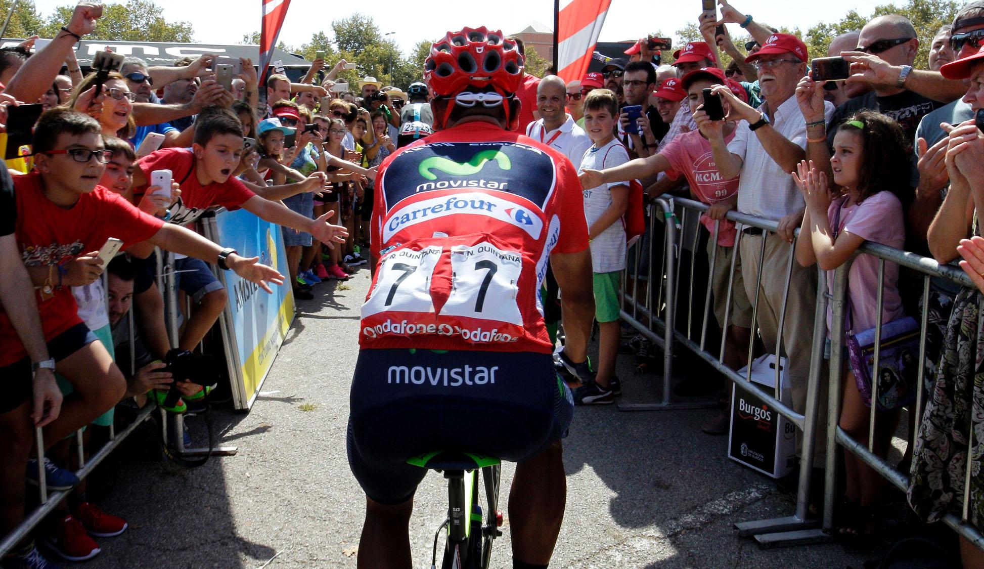 """La Vuelta"" Tour of Spain bike race"