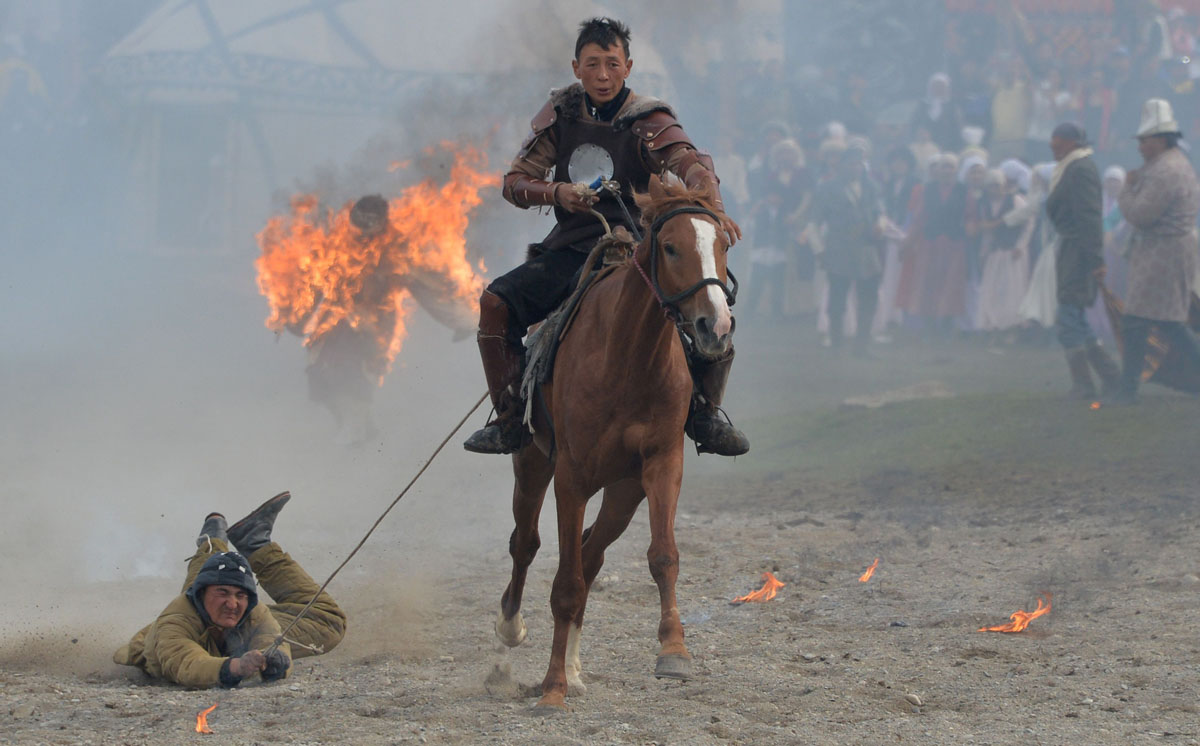 World Nomad Games 2016 in Kyrchin gorge