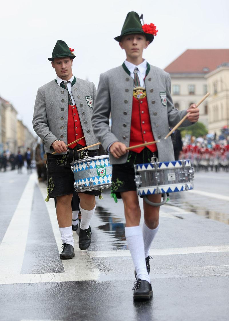 munich oktoberfest parade video