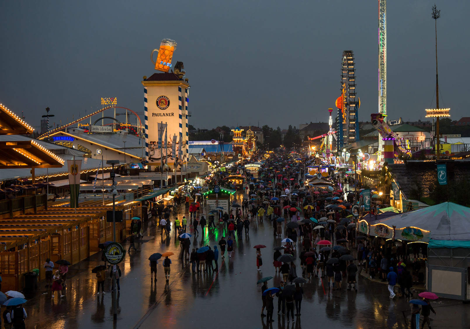 the munich oktoberfest