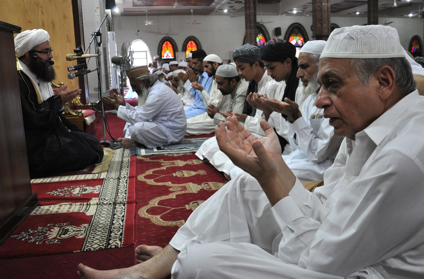 Muslims celebrate Eid al-Adha around the world