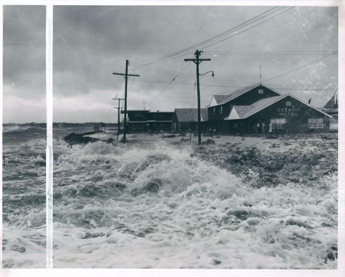 Hurricane Donna, September 13, 1960. (DiPaola/Baltimore Sun)