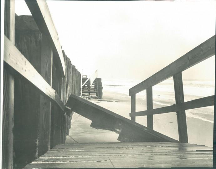 September 18, 1967, Ocean City. Boardwalk ramp at 12th. (Baltimore Sun)
