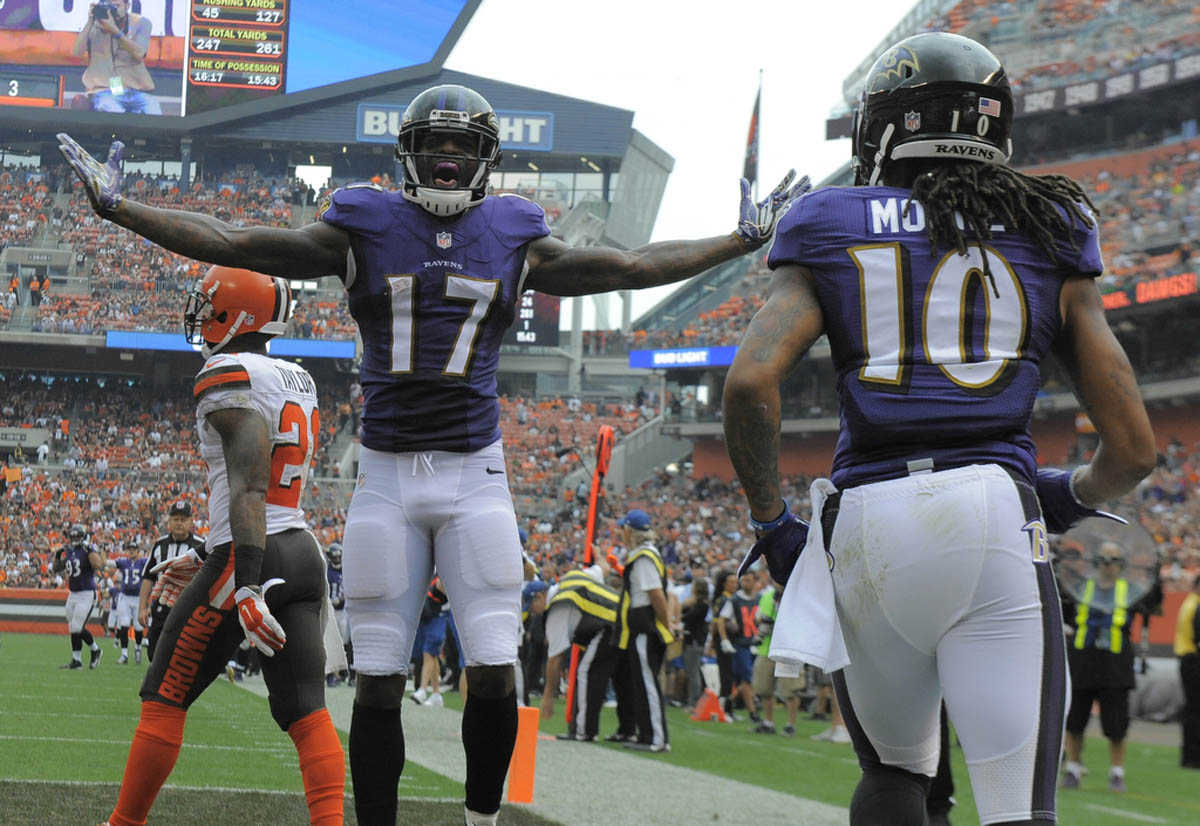Rough Cut: A raw edit from Ravens win over Browns