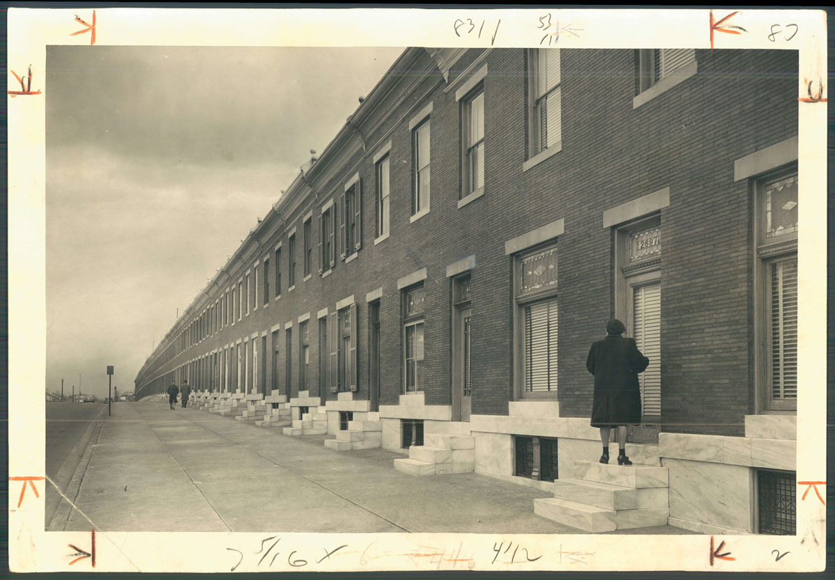 Row Houses In Baltimore Md : From the vault baltimore s rowhouses and ground rent