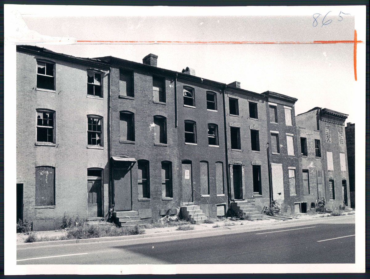 From the vault: Baltimore's rowhouses and ground rent