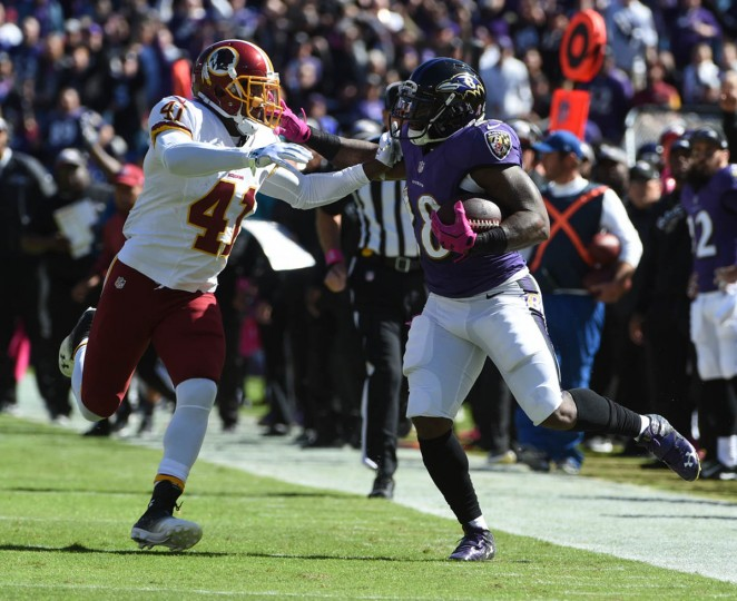 Ravens vs. Redskins