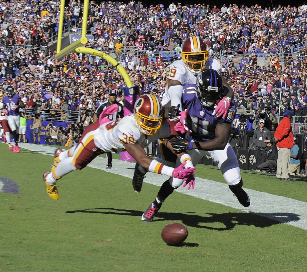 Redskins New Stadium: Rough Cut: A Raw Edit From Ravens Loss To Redskins