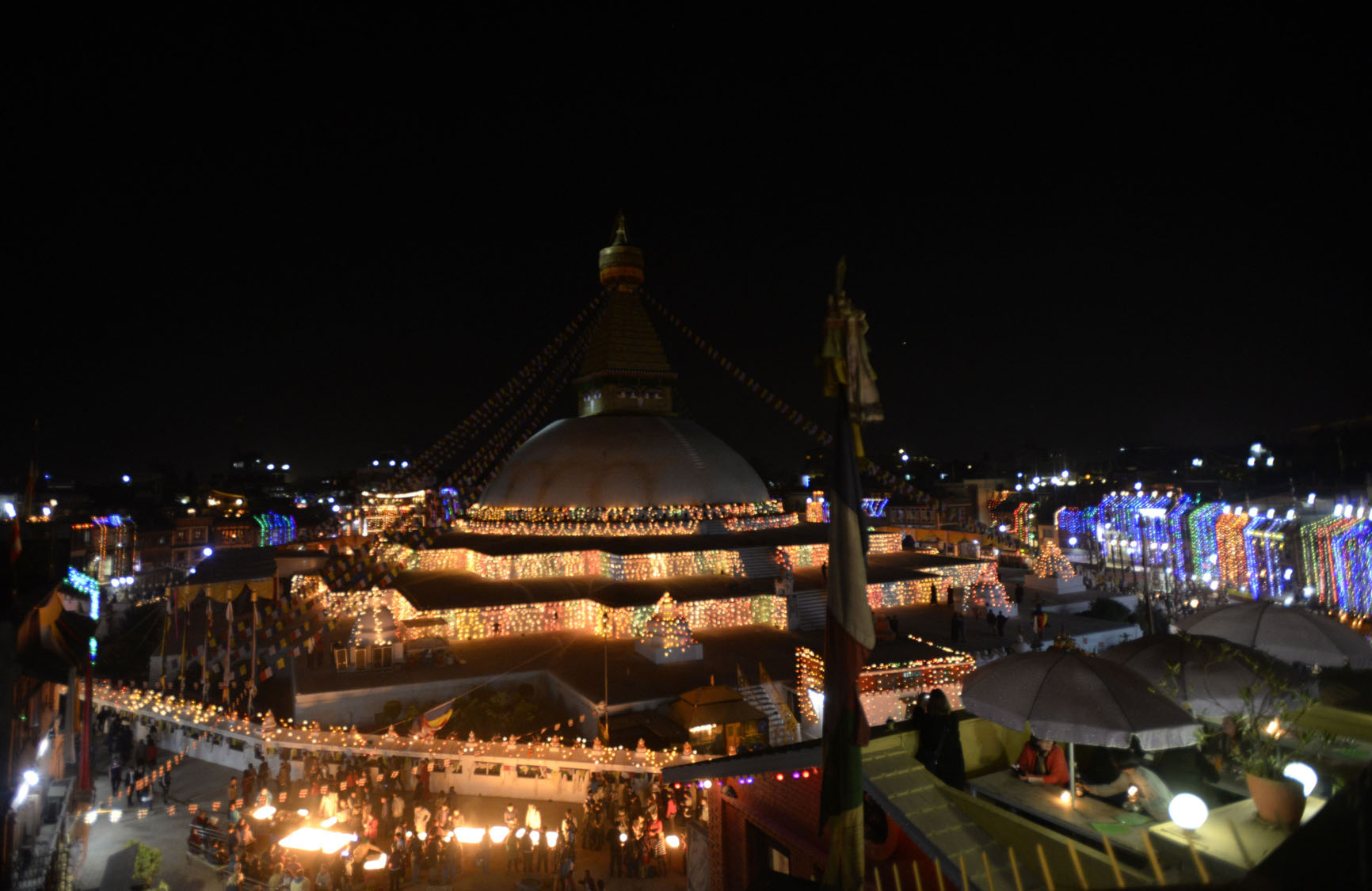 Boudhanath Stupa reopens after April 2015 Nepal earthquake