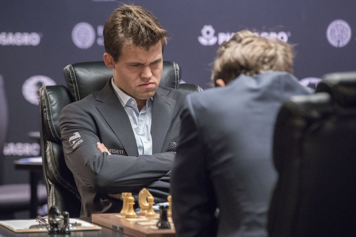 Norwegian, Russian to square off in World Chess Championship